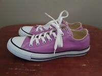 Converse Mens Chuck Taylor All Star 155576F Purple Running Shoes Size M 6 W 8