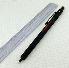 rOtring 600 0.35mm Mechanical Pencil Full Matal Black Hexagon Body Germany [NEW]