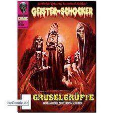 Geister- Schocker 21 COMIC Gruselgrüfte Romantruhe HORROR Hörspiel CD NEU
