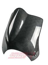 Buell S1 Lighting/S1w White Headlight Cowl/Windscreen Windshield Carbon Fiber