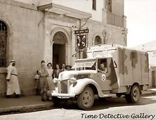 Church of Scotland Canteen Food Truck Jerusalem -WWII 1941- Historic Photo Print