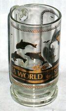 Vintage Sea World Glass Coffee Mug (Shamu Killer Whale Seaworld)
