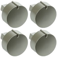 4 x Diplomat ADP4670 ADP4890 Silver Main Oven Grill Hob Cooker Control Knobs