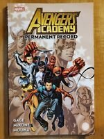 Avengers Academy v1 Permanent Record good condition