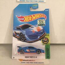 Renault Sport R.S. 01 #252 * Blue * 2017 Hot Wheels FACTORY SET * G27