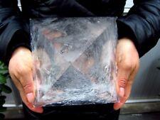 11.45lb AA HUGE NATURAL CLEAR quartz crystal Pyramid healing