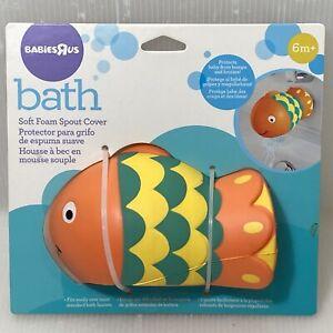 Babies R Us Bath Soft Foam Spout Cover 6m+ Colorful Fish