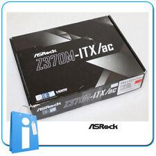 Placa base mini Micro ITX Z370 ASRock Z370M-ITX/ac Socket 1151 con Accesorios