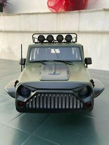 Carrozzeria Jeep Wrangler Axial SCX10 II 313mm adattata per Traxxas TRX4