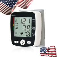 Automatic LCD Digital Wrist Blood Pressure Monitoring Machines Test Device
