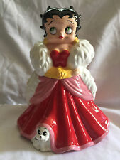 "Collectible Westland Giftware Betty Boop Gown #20162 Cookie Jar 11"" Tall No Box"