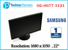 Samsung SyncMaster 2243BW 22in LCD Monitor Resolution 1680 x1050 1Year Warranty