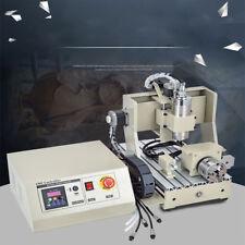 4 Axis 3020 CNC Router Engraver Fräsmaschine Graviergerät Drilling Milling 800w