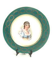 "Vintage EMPRESS MARIE LOUISE PLATE w/ Austrian ""Beehive"" & Double Eagle Hallmark"