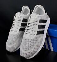 ADIDAS AQ1125 GREY ONE BLACK WHITE N-5923 Mens Running Shoes