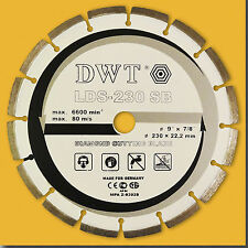 Diamante Disco Ø 230 mm Diamante disco armierte calcestruzzo (Laser saldato)