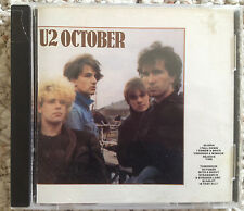 "U2 ""October"" CD 1981 Island Records"