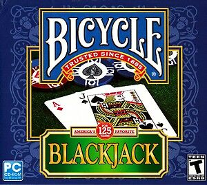 Bicycle Blackjack (PC, 2010) GAME NEW & FACTORY SEALED!!!