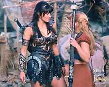 Xena Photo Club March 2005 8x10  photograph Mar 05 Xena and Gabrielle talk