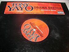 "Tony Yayo Drama Setter w/Eminem & Obie Trice 12"" Single NM Interscope 2005"