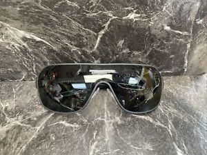 Prada Sport Sunglasses PS 52QS DG01A1 Black Rubber | Grey Lens