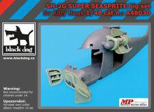 Black Dog 1/48 SH-2G Super Seasprite Big Set for Kitty Hawk kits