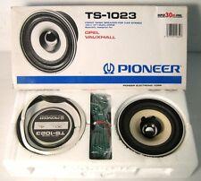 pioneer ts-1023, speakers, altoparlanti, car audio, 1988