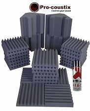 Pro-coustix Ultraflex Studio pack One  24xTiles+4xBass Traps + FREE Spray Glue