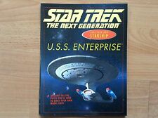 STAR TREK : USS ENTERPRISE. Make Your Own Starship. COLLECTOR 96. Like NEW !