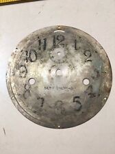 Antique Vintage Seth Thomas Ships Clock Dial