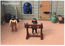 CEPO MEDIEVAL CASTILLO Medieval Stocks CUSTOM PLAYMOBIL FIGURAS NO INCLUIDAS