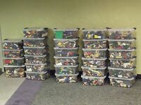 1000 + Lego Pieces Blocks Brick Parts Random Lot Assorted Miexed Genuine LEGOs