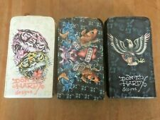 TOP FLIP-OPEN CASE / COVER / WALLET - APPLE iPHONE 3 3GS - 3 TATTOO DESIGNS