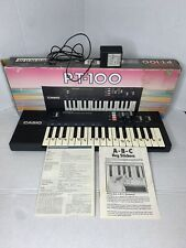 Casio PT-100 Electronic Musical Instrument Synthesizer Keyboard Tested-Works