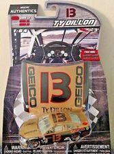 TY DILLON 2017 1/64 #13 NASCAR AUTHENTICS GEICO THROBACK CHEVROLET  WAVE 10 NEW
