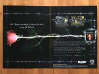 Quake II 2 Netpack Extremities PC 1998 Vintage Poster Ad Print Art Official Rare