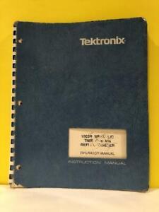 TEK 070-6268-00 1503B Metalic Time Domain Refectometer Instruction Manual