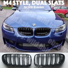 2010+ LCI BMW e92/e93 coupe/convertible,M4 look grille,gloss black,double SLAT