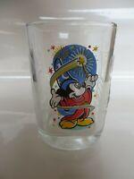 McDonalds 2000 Disney Glass Cup Celebration Mickey Mouse Wizard Sorcerer Epcot