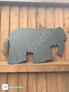 Children's Outdoor Elephant Chalkboard Garden Handmade  School Nursery