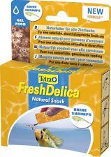 Tetra freshdelica Shrimps 48 Size Brine Shrimp in Jelly, also for invertebrates