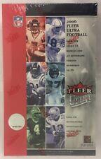 2006 Fleer Ultra Factory Sealed Football Hobby Box