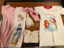 Vintage Care Bear Nightgowns And Baby Clothes