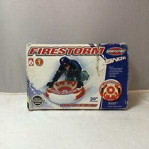 "New SportsStuff Firestorm Snow Tube 30"" 75 cm Diameter #30-1915 PVC Sled 1 Rider"