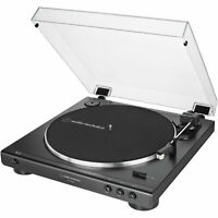 Audio-Technica AT-LP60XUSB-BK  Automatic Analog/USB Belt-Drive Stereo Turntable