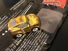 Cars 3 Diecast Mystery Mini Car 3  G Case- #38 Cruz Ramirez (GOLD)