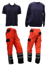 Feuerwehr Rettungsdienst Notarzt Polo Sweatshirt Hose Johanniter Malteser Set FW