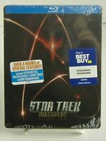 Star Trek: Discovery Season 2 Best Buy SteelBook 4 Disc Blu-ray Set Brand New.