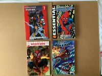 4 TPB Spider-Man lot Amazing Essential Ultimate Venom