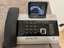 Gigaset DX800A ISDN-/DECT Schnurtelefon-Anrufbeantworter - gr. Display, titanium
